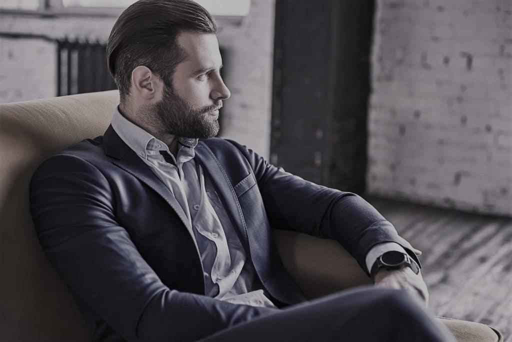 Beard Looks at Men's Spa Salon